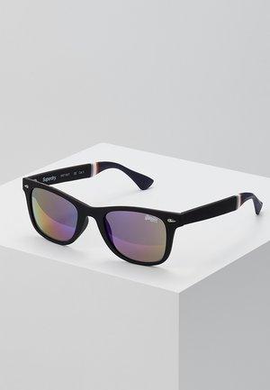 SOLENT SUN - Okulary przeciwsłoneczne - black rubberised