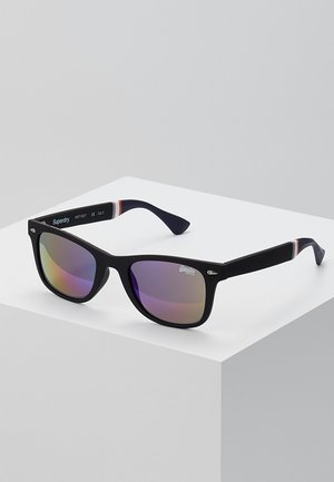 SOLENT SUN - Gafas de sol - black rubberised