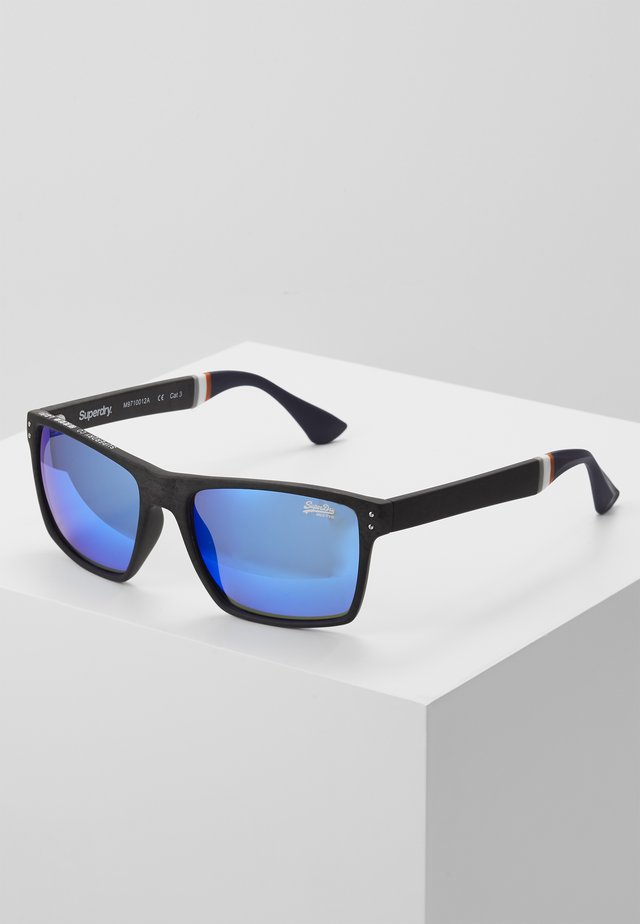 YAKIMA - Sunglasses - matte grey marl/blue mirror