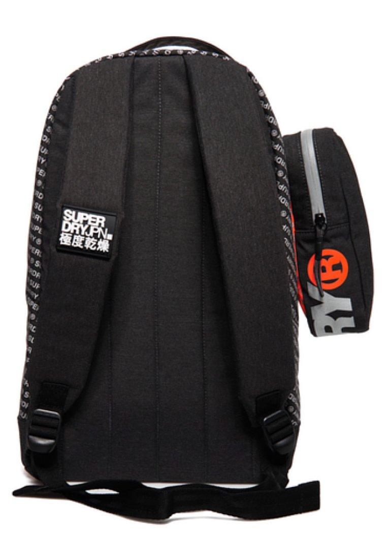 Zac Mottled BackpackTrousse Superdry Black Freshman pMGjzVSULq