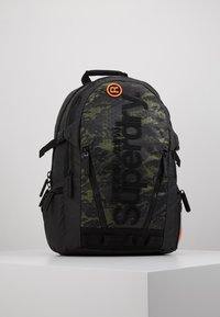 Superdry - CAMO TARP BACKPACK - Reppu - green - 0
