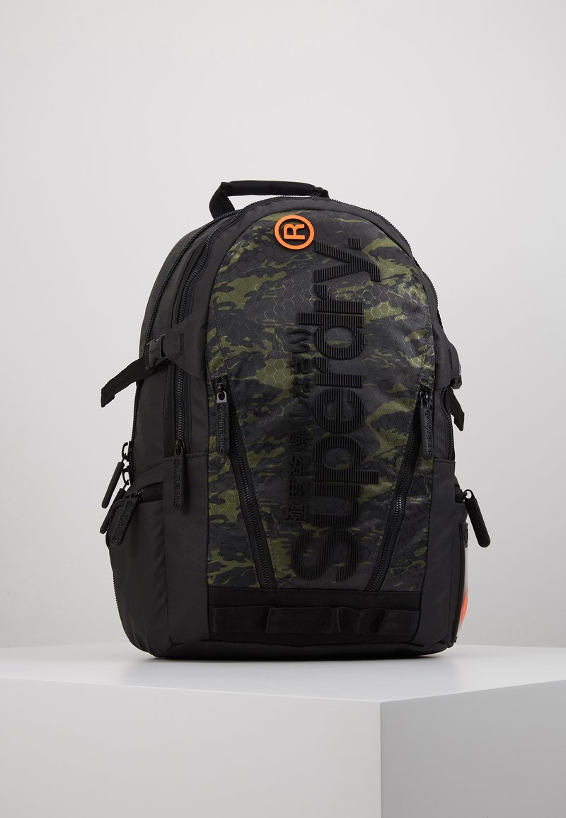 Superdry - CAMO TARP BACKPACK - Reppu - green