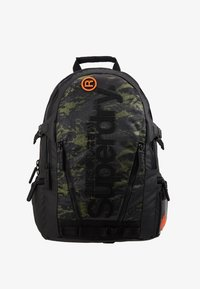 Superdry - CAMO TARP BACKPACK - Reppu - green - 1