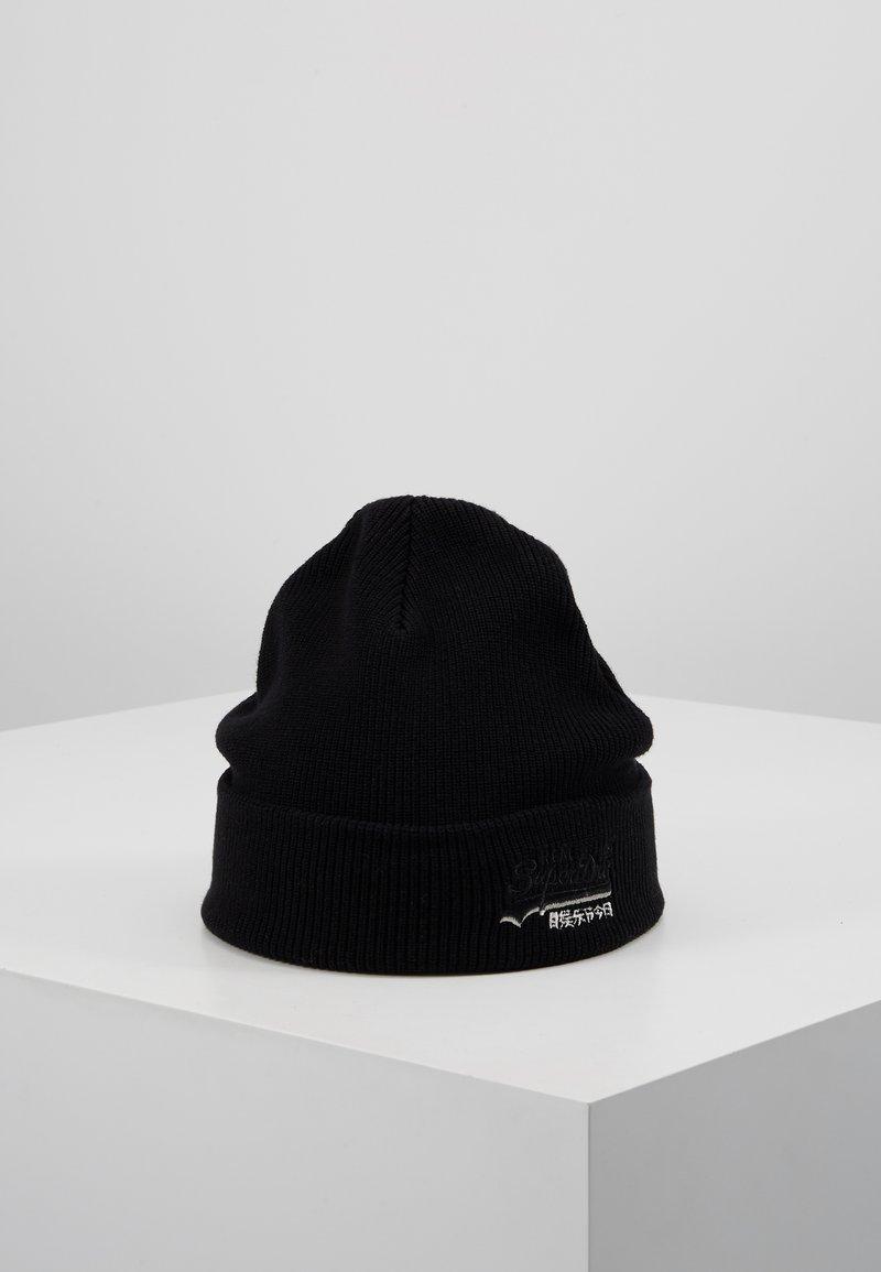 Superdry - ORANGE LABEL  - Bonnet - black