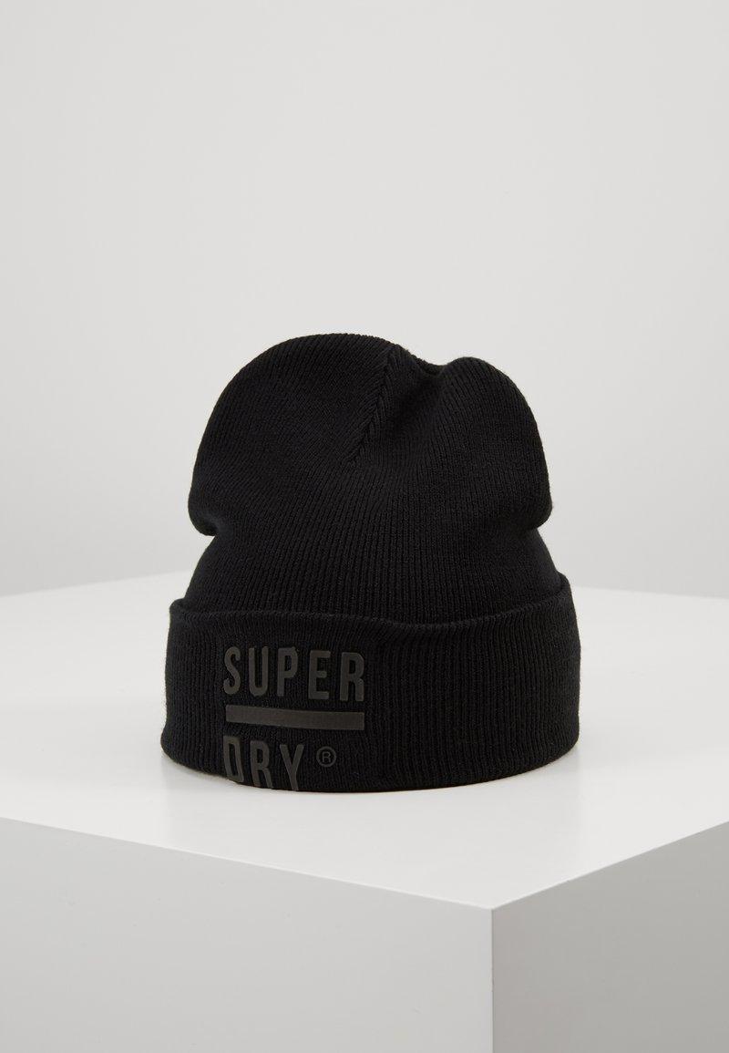 Superdry - SURPLUS BEANIE - Čepice - black