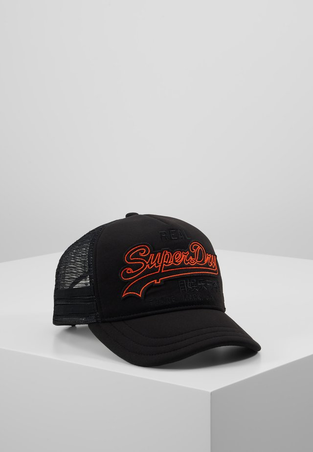 OUTLINE PREMIUM CAP - Cap - black