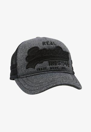 OUTLINE PREMIUM CAP - Lippalakki - grey marl