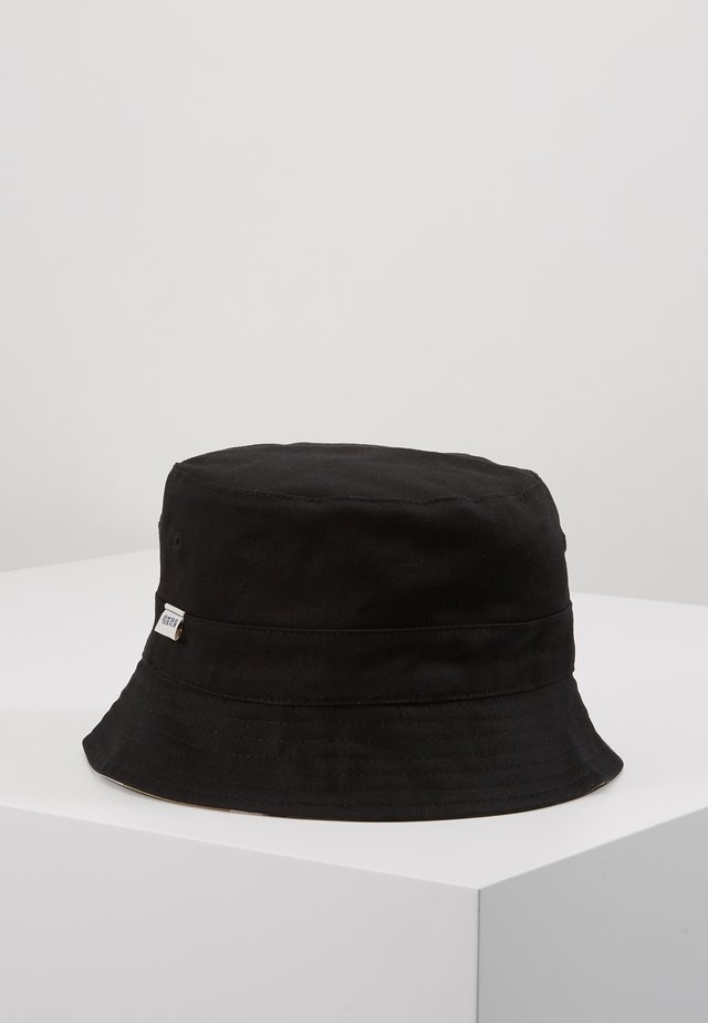 REVERSIBLE BUCKET HAT - Hut - black