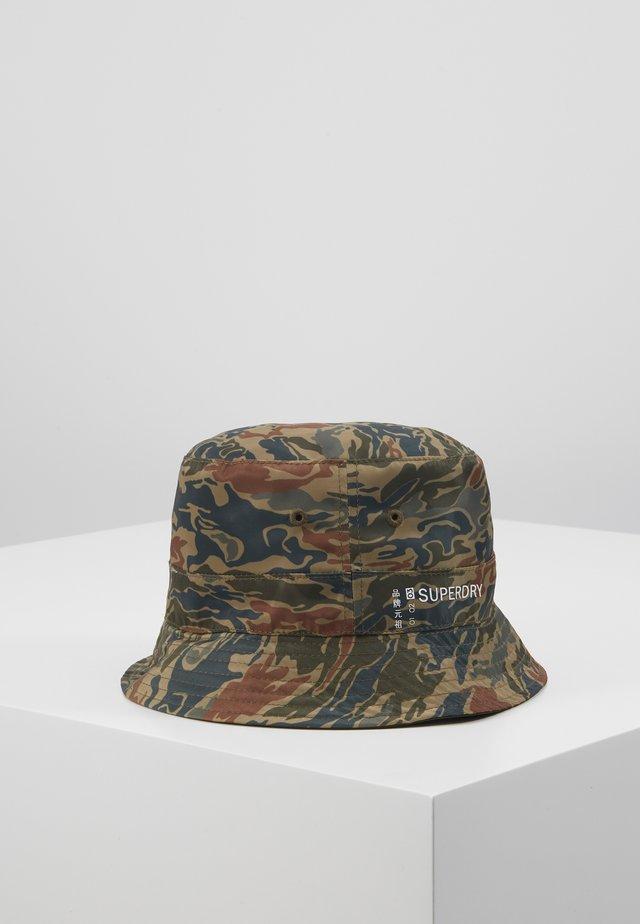 REVERSIBLE BUCKET HAT - Hatt - green