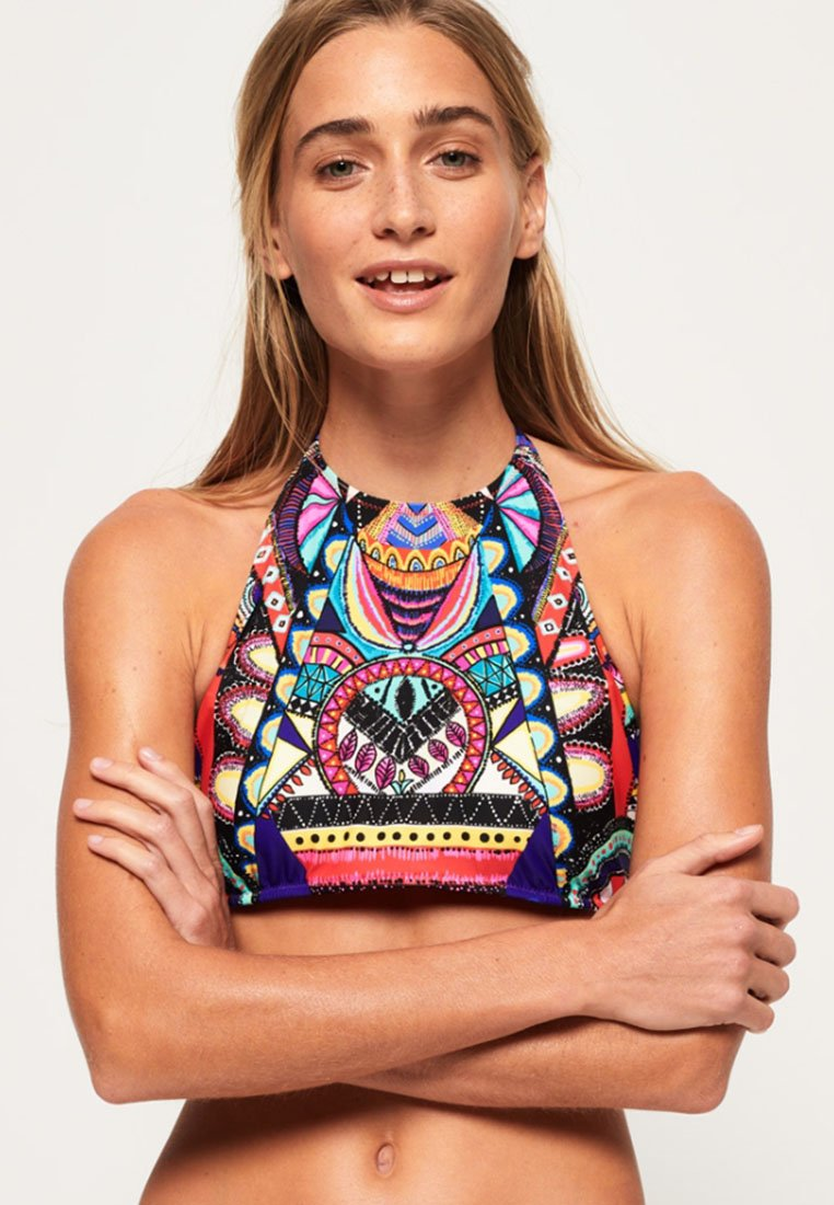 Superdry - ETHNO-PRINT  - Bikiniyläosa - multicolor