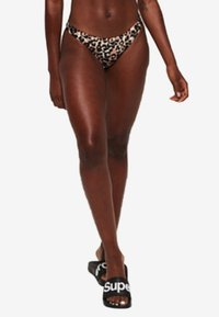 Superdry - CHEEKY - Bikinialaosa - brown - 0