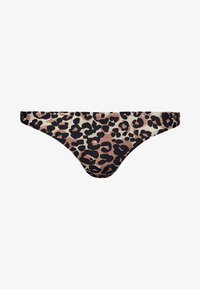 Superdry - CHEEKY - Bikinialaosa - brown