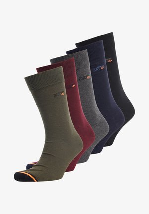5ER-PACK - Chaussettes - grey