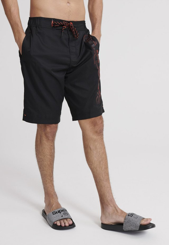 SUPERDRY CLASSIC BOARDSHORT - Uimashortsit - black