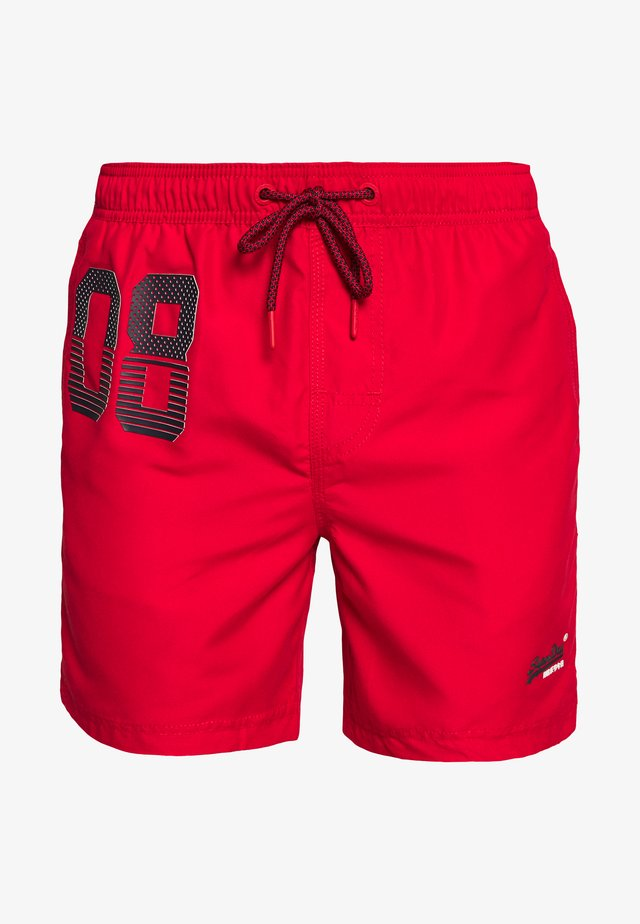 WATERPOLO SWIM - Zwemshorts - flag red