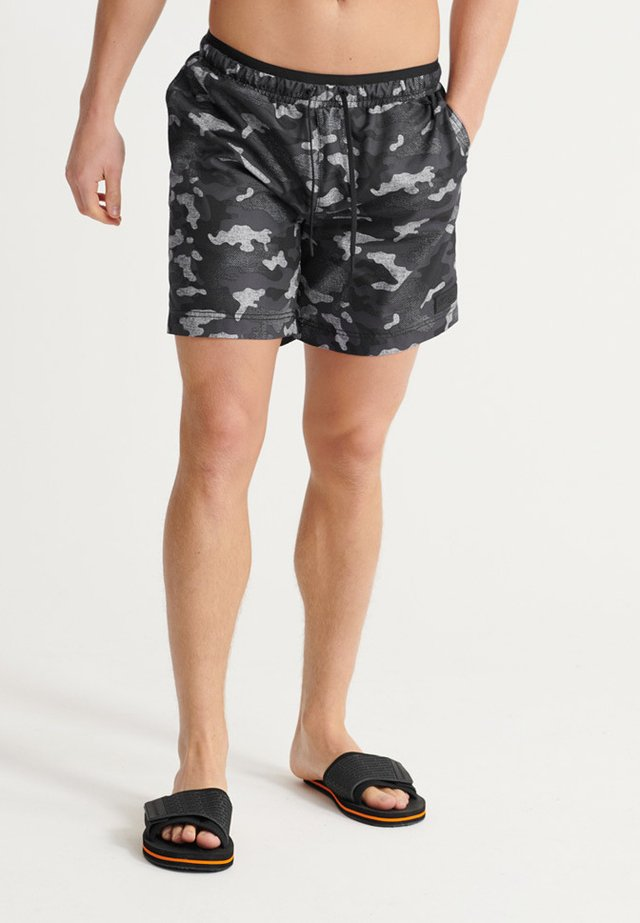 SURPLUS - Zwemshorts - black camo