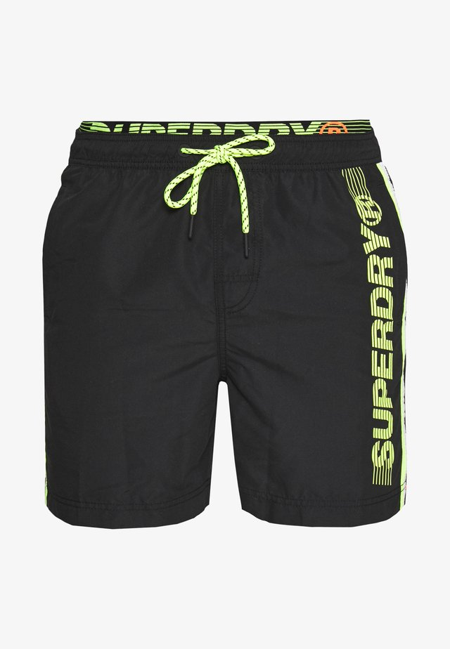 STATE VOLLEY SWIM - Shorts da mare - black