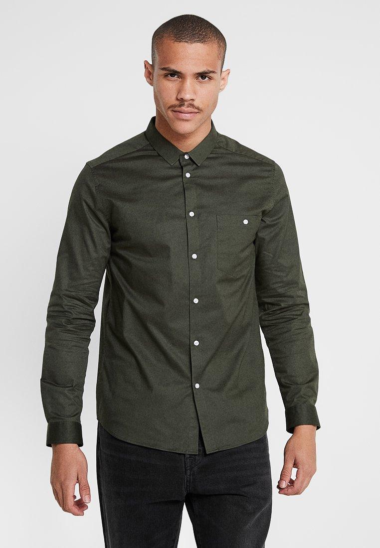 Suit - DEAN - Shirt - forrest green