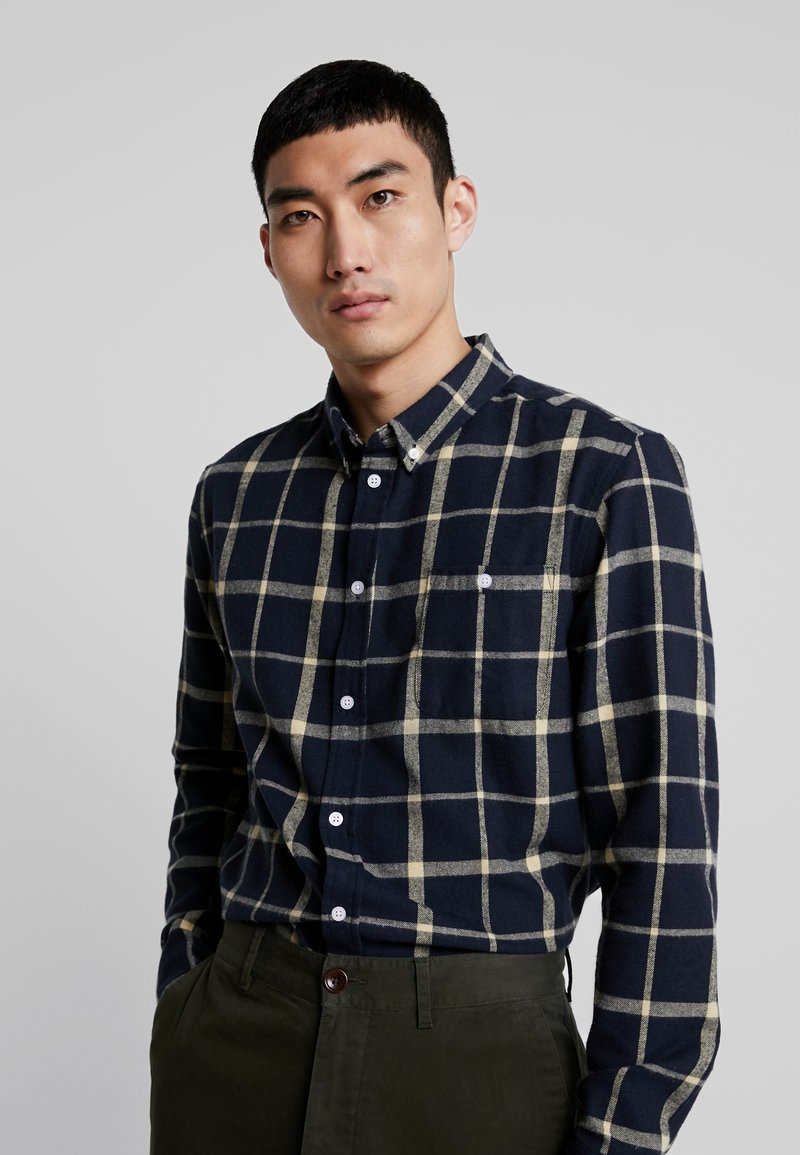 Suit - RUFUS CHECKED - Shirt - navy