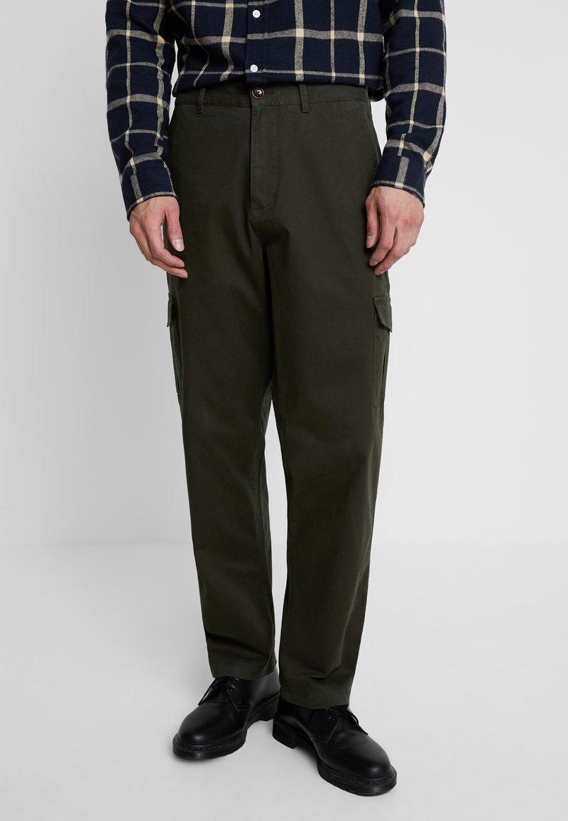 Suit - Pantaloni cargo - forrest green