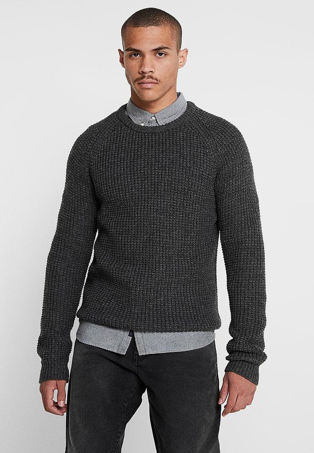 IRON - Strikkegenser - grey melange