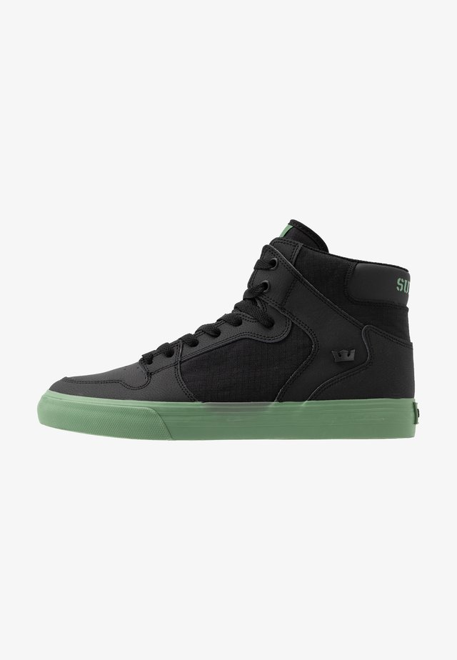 VAIDER - High-top trainers - black/hedge