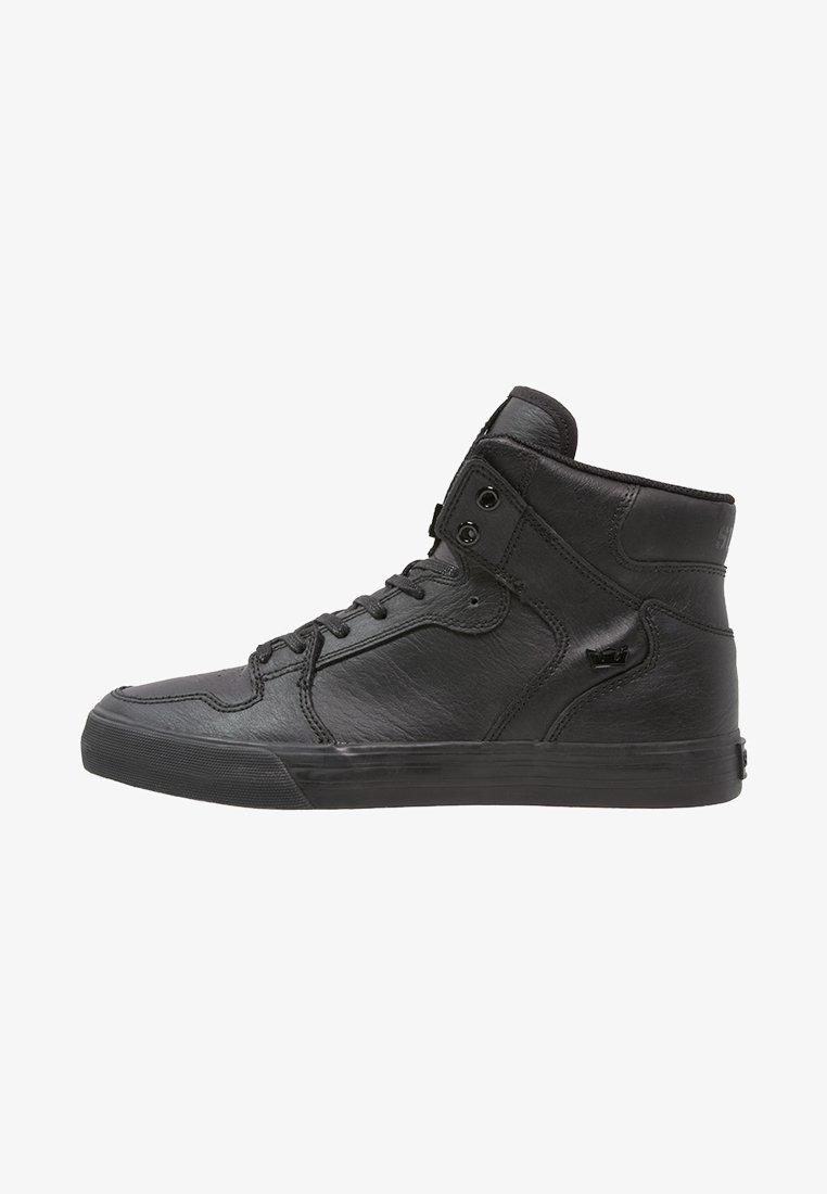 Supra - VAIDER CLASSIC - Sneakersy wysokie - black/red