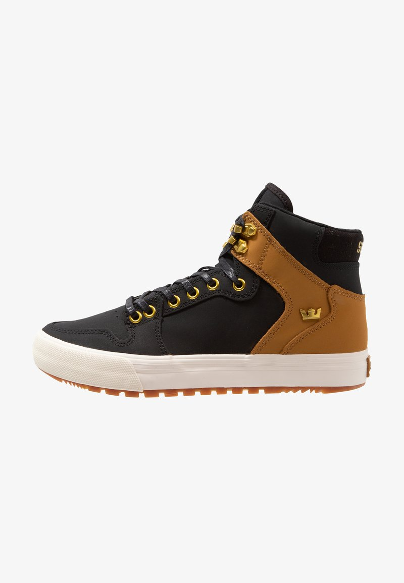 Supra - VAIDER CW - Zapatillas altas - black/tan/bone