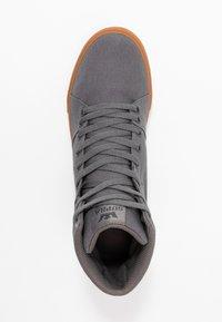 Supra - ALUMINUM - Sneakers hoog - charcoal - 1