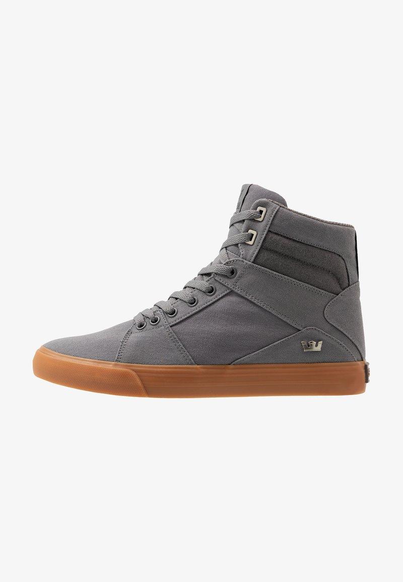 Supra - ALUMINUM CW - Sneakers high - charcoal