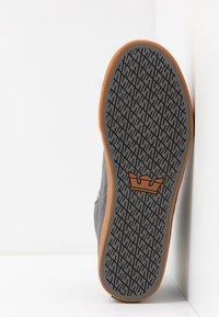 Supra - ALUMINUM - Sneakers hoog - charcoal - 4