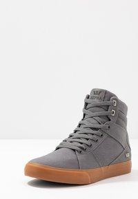 Supra - ALUMINUM - Sneakers hoog - charcoal - 2