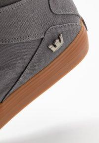 Supra - ALUMINUM - Sneakers hoog - charcoal - 5