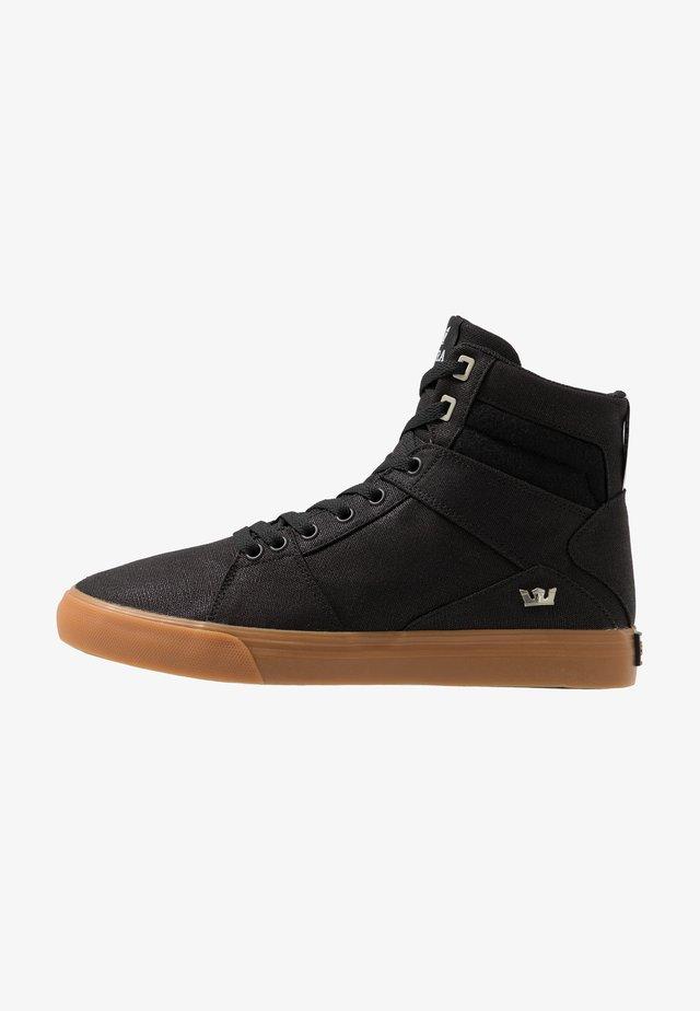 ALUMINUM - Sneakers high - black