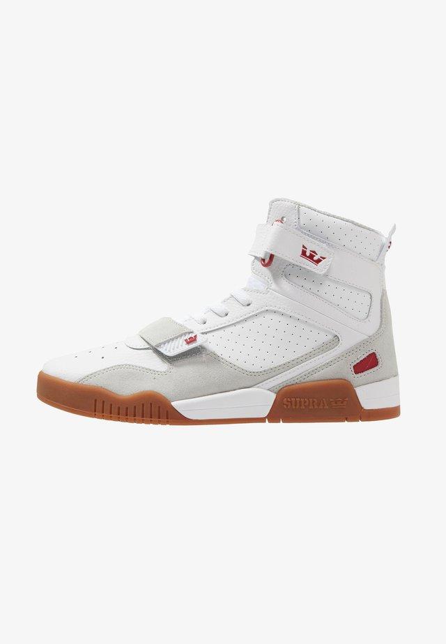 BREAKER - Sneakers high - white/rose gum