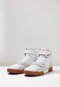 Supra - BREAKER - High-top trainers - white/rose gum - 2