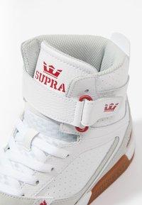 Supra - BREAKER - High-top trainers - white/rose gum - 5