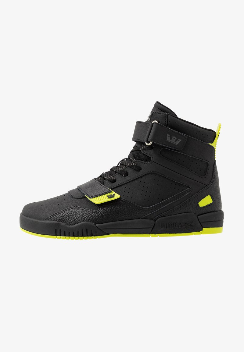 Supra - BREAKER - Zapatillas altas - black/lime