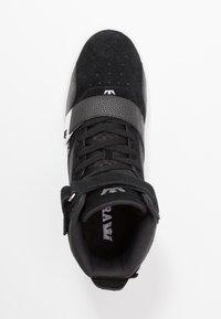 Supra - BREAKER - High-top trainers - black/silver/white - 1