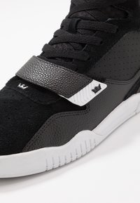 Supra - BREAKER - High-top trainers - black/silver/white - 5