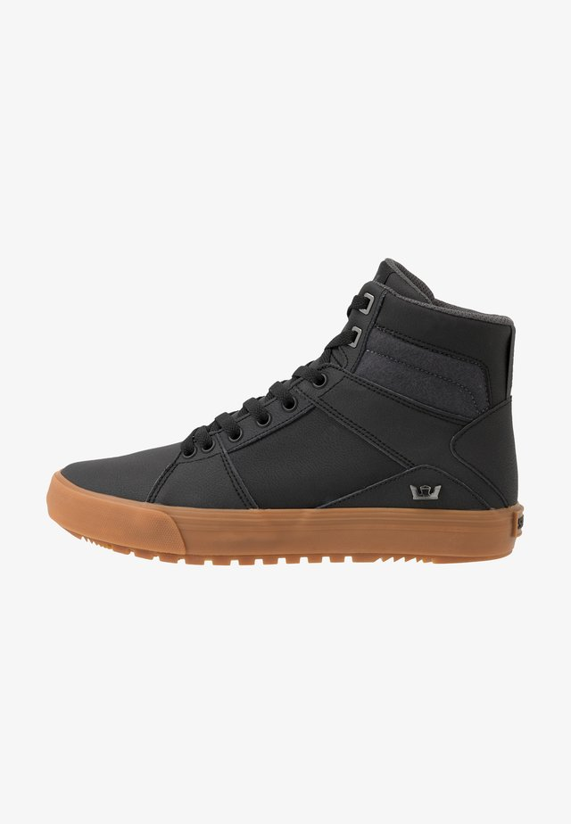 ALUMINUM CW - High-top trainers - black