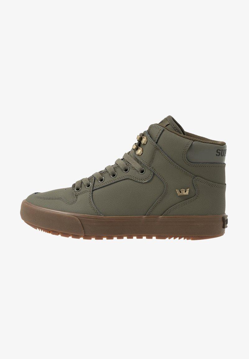 Supra - VAIDER COLD WEATHER - Sneakers hoog - olive