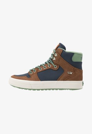 VAIDER COLD WEATHER - Skate shoes - navy/brown