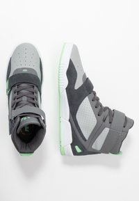 Supra - BREAKER - Zapatillas altas - grey/mint/white - 1