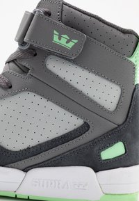 Supra - BREAKER - Zapatillas altas - grey/mint/white - 5