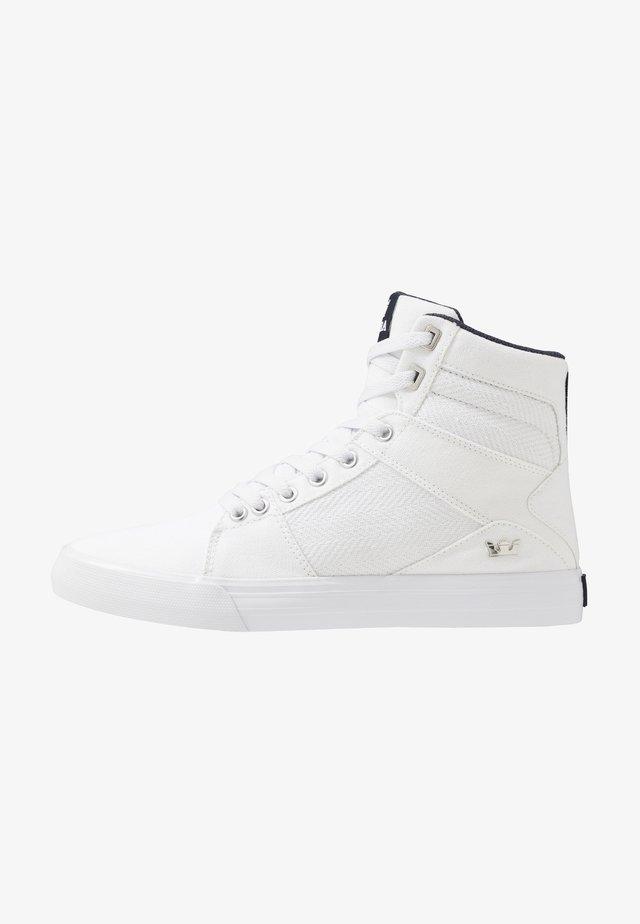 ALUMINUM - Sneakers high - white