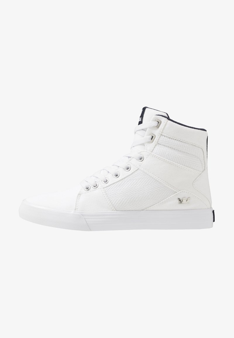 Supra - ALUMINUM - Sneakersy wysokie - white