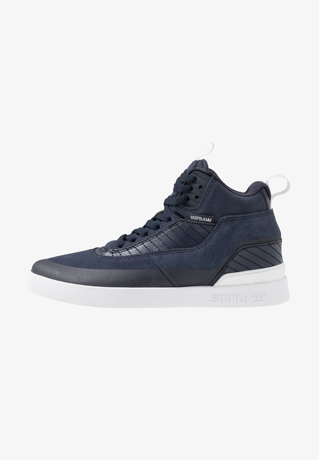 PENNY PRO - Höga sneakers - navy/white