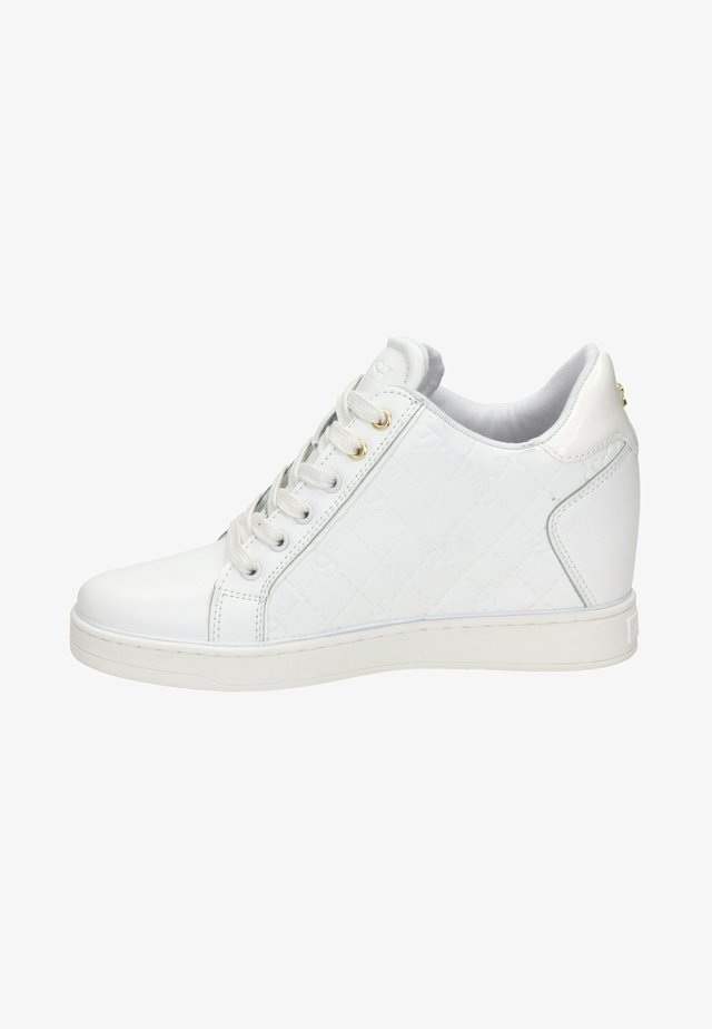 High-top trainers - wit