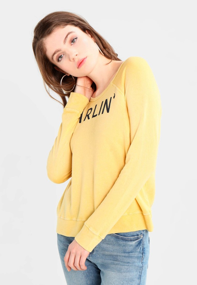 Sundry - DARLIN - Sweatshirt - vintage mustard